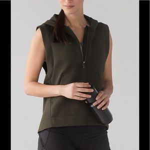 💗Lululemon Re-Form Vest-Dark Olive💗